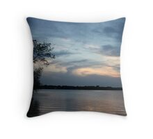 Lac LaBelle Sunset Throw Pillow