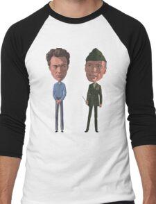 Clint is Watching Men's Baseball ¾ T-Shirt