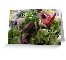 Healthy Eating Greeting Card