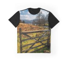Countryside Gate Graphic T-Shirt