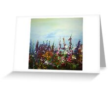 spring to life colour burst multitude  Greeting Card