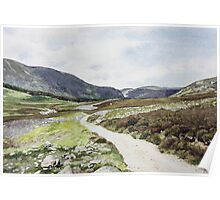 Road through Glen Esk Poster