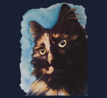 Abbey - Watercolour Tee, stickers and iPhone case by Lauren Eldridge-Murray