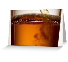 Is it beer or cream soda? Greeting Card
