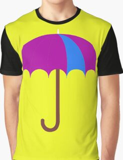 Bright Umbrella Graphic T-Shirt