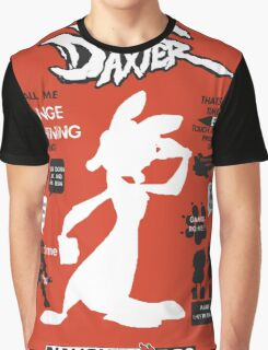 Daxter Quotes Graphic T-Shirt
