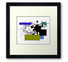 illustrator art Framed Print