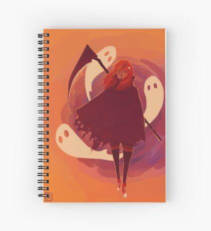 Reaper Girl in the Desert Spiral Notebook