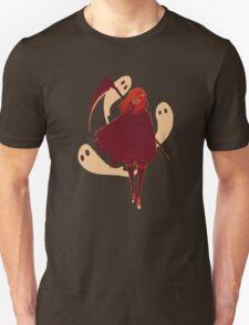 Reaper Girl in the Desert Unisex T-Shirt