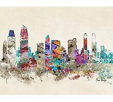 san diego california skyline Photographic Print