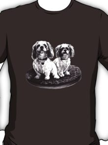 shih tzu dogs - clothing, stickers and iPhone case T-Shirt