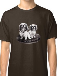 shih tzu dogs - clothing, stickers and iPhone case Classic T-Shirt