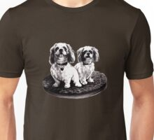 shih tzu dogs - clothing, stickers and iPhone case Unisex T-Shirt