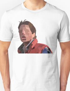 Marty Mcfly Polygons Unisex T-Shirt