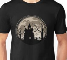 Haunted House. Halloween Unisex T-Shirt