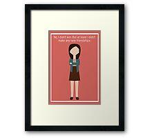 """April Ludgate: """"New Friendships"""" Framed Print"""