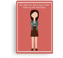 "April Ludgate: ""New Friendships"" Canvas Print"