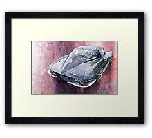Chevrolet Corvette Sting Ray 1965 Framed Print