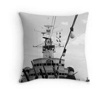 HMS Belfast Throw Pillow