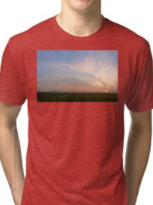 Early spring sunset Tri-blend T-Shirt