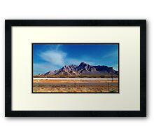 Arizona - On The Fly Framed Print