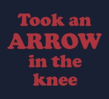 Took An Arrow In The Knee by jezkemp