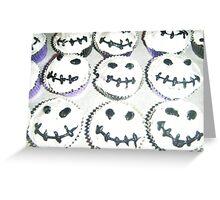 Smiling Jack Skellington Cupcakes Greeting Card