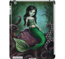 Dark Mermaid Octopus iPad Case/Skin