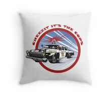 Cheezit!! It's the Cops Throw Pillow