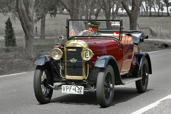 Amilcar C4 1925 by Geoffrey Higges