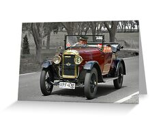 Amilcar C4 1925 Greeting Card