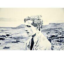 Bobby Fischer in Reykjavik Photographic Print