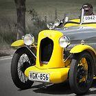 Austin 7 Meteor 1935 by Geoffrey Higges