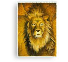 """The Lion of Judah"" Canvas Print"