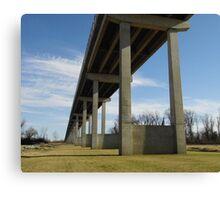 Dam Bridge at Pine Bluff, Ark Canvas Print