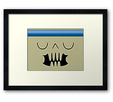 Halt Framed Print