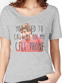 Zack Morris Cell Phone Women's Relaxed Fit T-Shirt