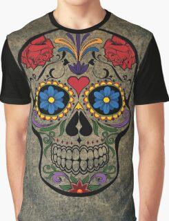 Skull Modern Art Graphic T-Shirt