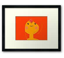Flame Princess Framed Print