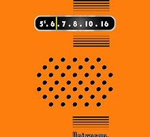 Transistor Radio - 70's Orange by ubiquitoid