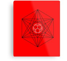 Dodecahedron special Metal Print