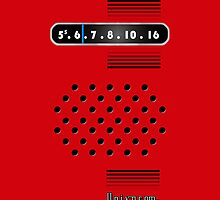 Transistor Radio - 70's Red by ubiquitoid