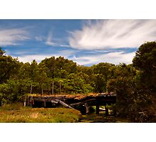 A Bridge No More Photographic Print