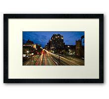 North Terrace - Adealide, SA Framed Print