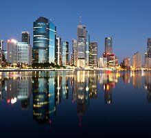 Brisbane Dawn by Austscapes