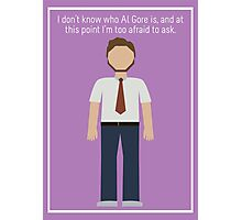 "Andy Dwyer: ""Al Gore"" Photographic Print"