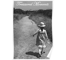 Treasured Childhood moments - by the sea Poster