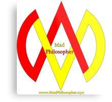 MadPhilosopher Branded Merch Metal Print