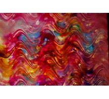 Ribbon Candy Painting  Photographic Print