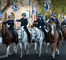 The Mounted Police by Darren Speedie